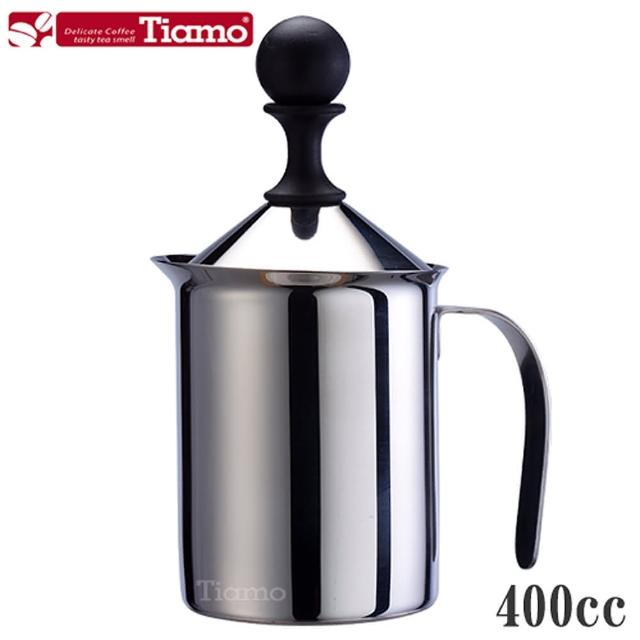 【Tiamo】雙層奶泡杯400cc(HA1529)