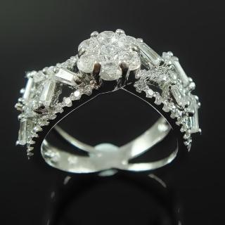 【Celosa名品-】花園晶鑽戒指