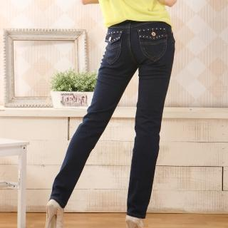 【RH】完美比例-3公斤牛仔長褲(天空藍S-M-3L-4L最後到貨)