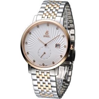【E.BOREL 依波路】喬斯石英系列紳士腕錶(GBR809L-4599)