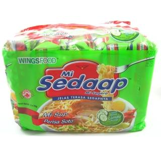 【sedaap】印尼喜達檸檬香茅湯味麵(75g*5包入)