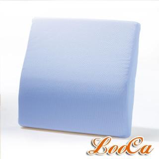 【LooCa】吸濕排汗釋壓腰靠墊(共4色)