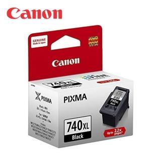 【CANON】PG-740XL 原廠黑色墨水匣(速達)