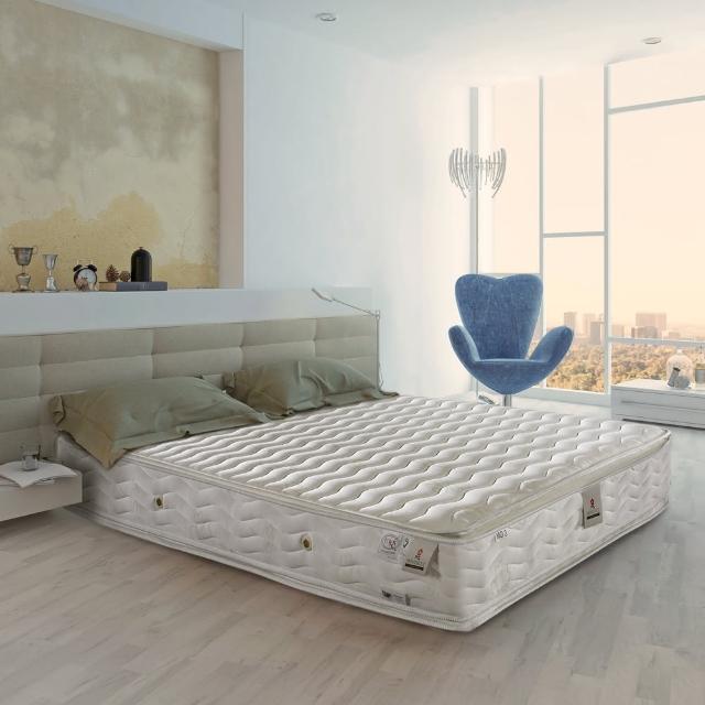 【法國-MONTAGUT】四線蜂巢式獨立筒床墊M03-單人3.5尺