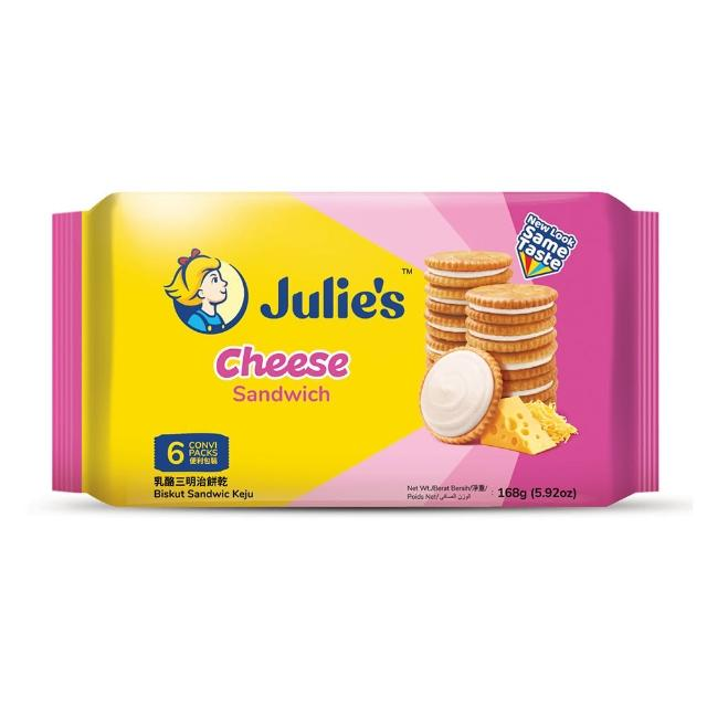 【Julies】茱蒂絲乳酪三明治餅乾(168g)
