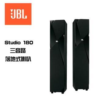 ~JBL 美國 三音路落地式主喇叭~STUDIO 180 黑色^(英大 貨^)