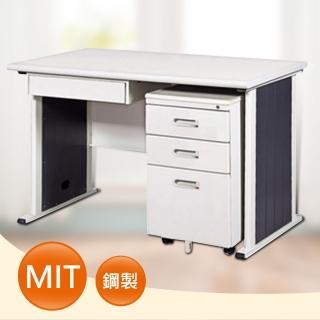 【時尚屋】DIY4尺YS淺灰色辦公桌櫃組(248-3)