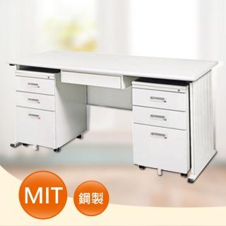 【時尚屋】DIY5尺THA淺灰色辦公桌櫃組(249-6)