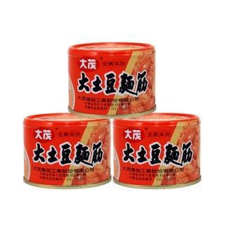 【大茂】土豆麵筋-鐵罐(170g*3)