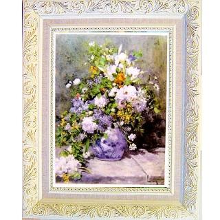 【開運陶源】《春之花樹》雷諾瓦名畫(中幅)