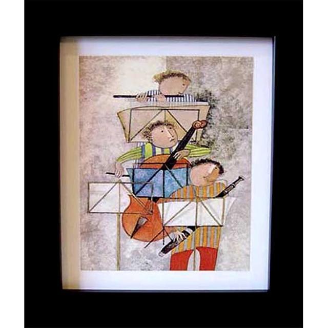 【開運陶源】Boulanger布蘭潔的三重奏世界名畫(霹靂三重奏)