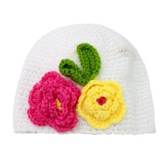 【BABY童衣】韓版時尚造型兒童鉤花呢料帽 F1032(共四款)