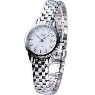 ~LONGINES 浪琴~旗艦系列女用自動機械腕錶 L42744126