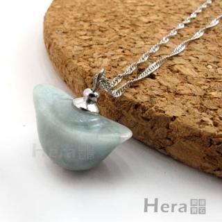 【Hera】頂級天然A貨翡翠迎財元寶項鍊