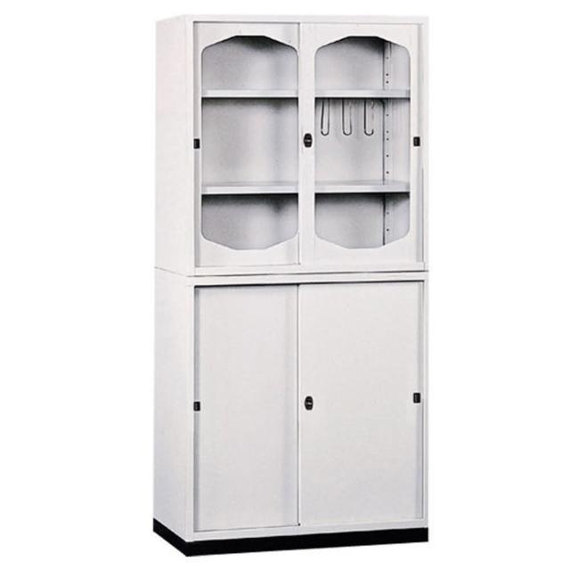 【時尚屋】K315圓框A級3x6拉門鐵櫃Y116-5免運費/台灣製/免組裝