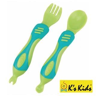 【Ks Kids】奇智奇思湯叉組(綠色)