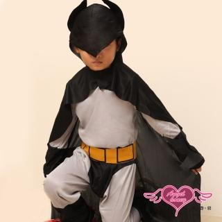 【天使霓裳】正義又帥氣的蝙蝠俠  萬聖節童裝系列(灰)