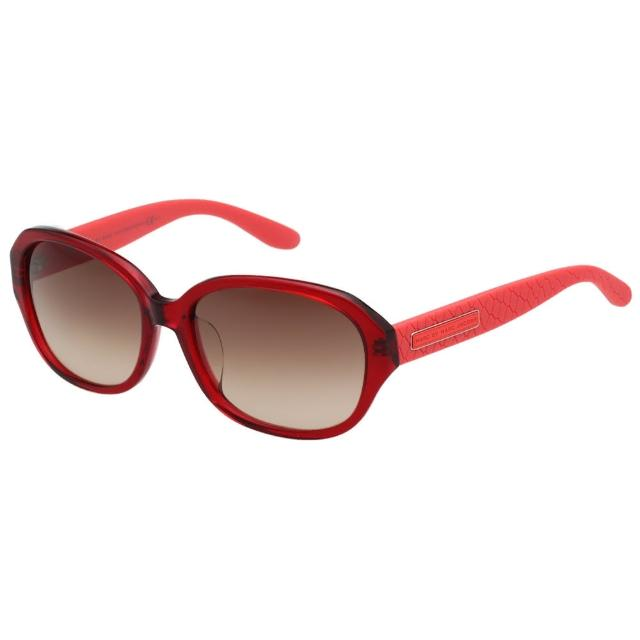 【MARC BY MARC JACOBS】-時尚太陽眼鏡(果凍紅)