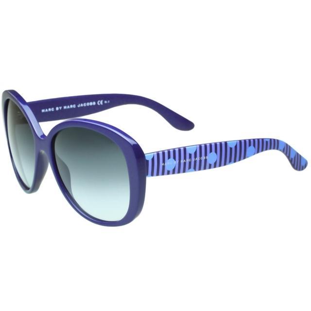 【MARC BY MARC JACOBS】-時尚太陽眼鏡(寶藍色)