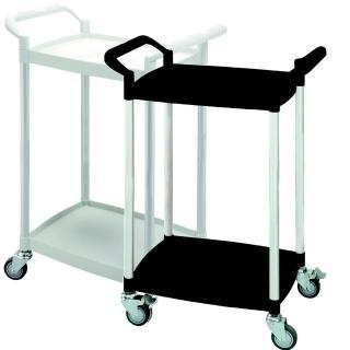 【COLOR】輕巧迷你型2層工具/餐推車(高級儀器輪)