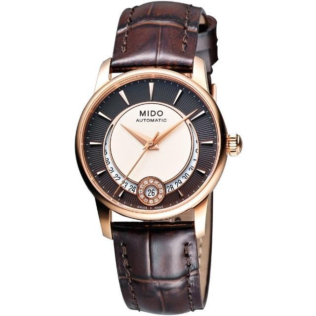 【MIDO】Baroncelli Lady 真鑽腕錶-33mm(M0072073629100)
