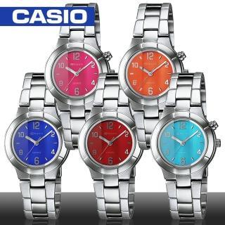 【CASIO 卡西歐 SHEEN系列】日系亮麗時尚女錶 炫麗LED冷光照明(SHN-2001D)