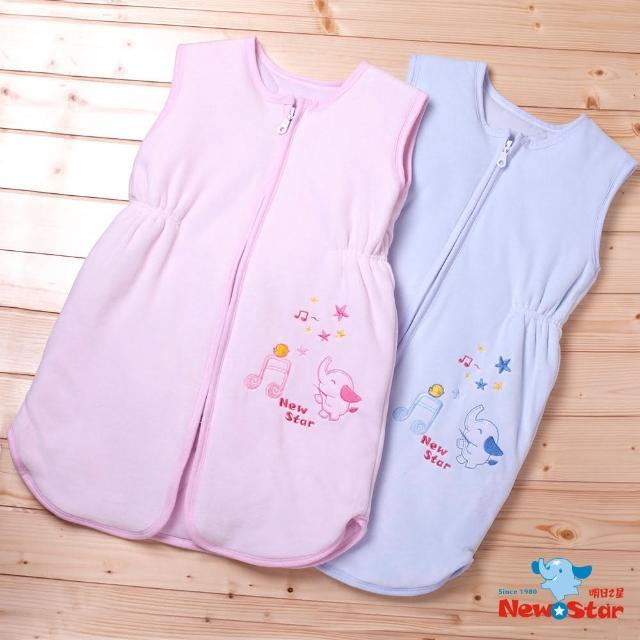 【Newstar明日之星】MIT嬰兒兒童保暖防踢睡袍-秋冬(棉絨+鋪棉、背心式、MIT、睡袍、保暖、推薦)