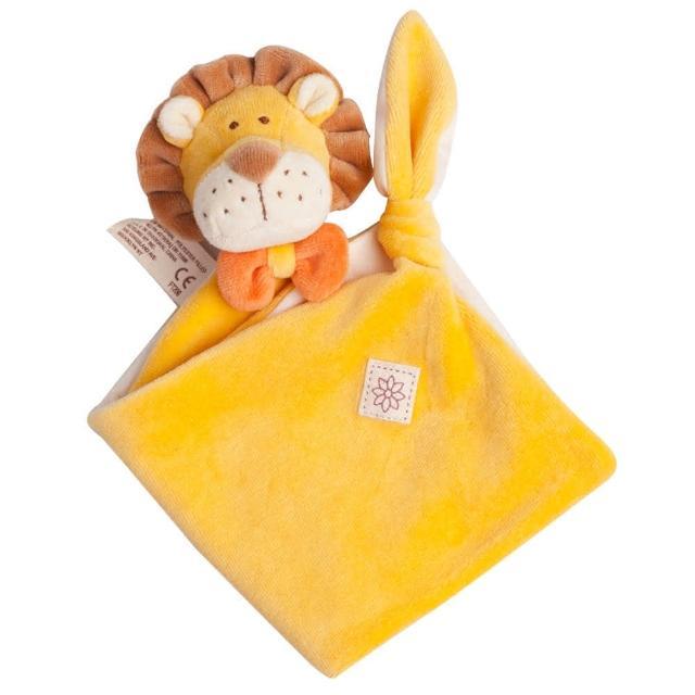 【美國miYim】有機棉安撫巾(里歐獅子)