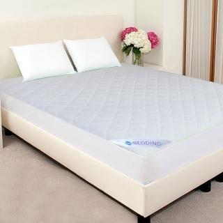 【GALATEA】山寧泰防蹣抗菌系列雙人竹炭床包式保潔墊