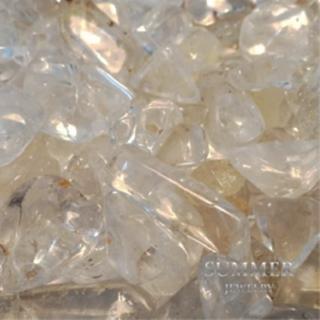 【SUMMER寶石】《白水晶2公斤》天然開運水晶碎石(除穢氣、開運必備)
