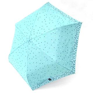 【好傘王】手開傘系 繽紛愛心鋼筆傘(水藍)