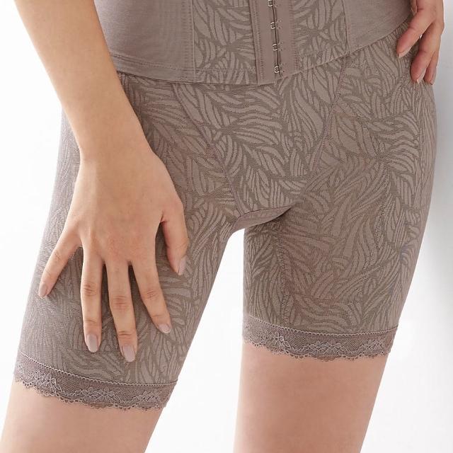 【曼黛瑪璉】魔幻美型 重機能中腰中管束褲(芋頭灰)