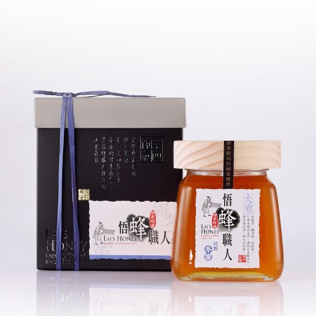 【宏基蜂蜜】↗悟蜂職人系列-大瓶蜜-冬蜜560g