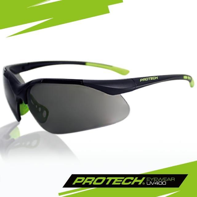 【PROTECH】ADP007專業級UV400運動太陽眼鏡(黑&綠色系)