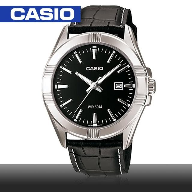 【CASIO 卡西歐】日系-大錶面紳士簡約時尚男錶(MTP-1308L)