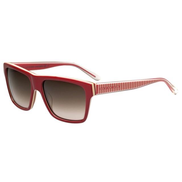 【MARC BY MARC JACOBS】-時尚太陽眼鏡(紅色)