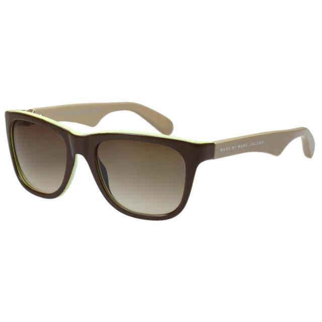 【MARC BY MARC JACOBS】-時尚太陽眼鏡(咖啡色)