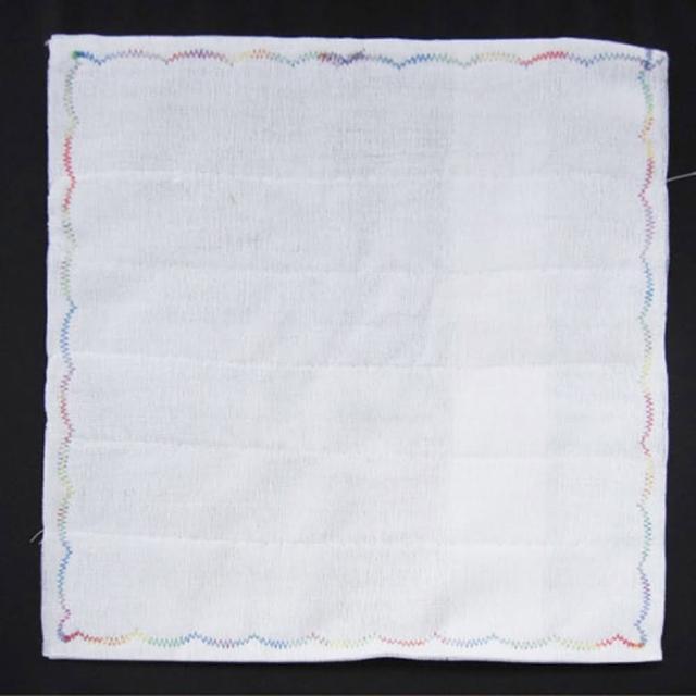 8層繡花抹布-30x30cm-12入(擦拭巾)