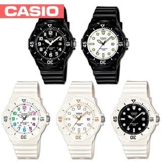 【CASIO 卡西歐】潛水風格-學生/青少年指針錶 鏡面3.4公分(LRW-200H)