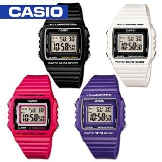 【CASIO 卡西歐】學生/青少年/運動錶(W-215H)