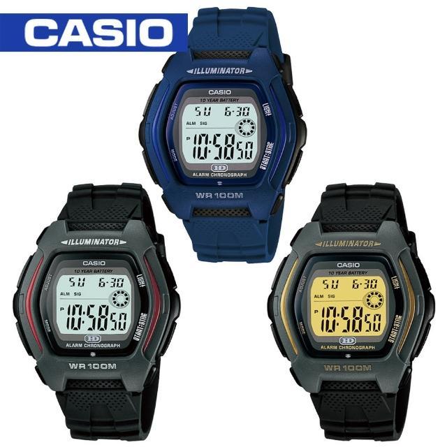 【CASIO 卡西歐】學生/青少年/指導員/運動錶(HDD-600)