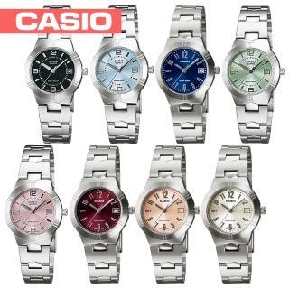 【CASIO 卡西歐】小徑面-多彩時尚淑女錶(LTP-1241D)