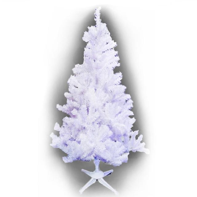 【摩達客】耶誕-12尺/12呎-360cm台灣製豪華型夢幻白色聖誕樹-裸樹(不含飾品/不含燈/本島免運費)/