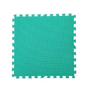 【新生活家】EVA運動安全地墊(綠色62x62x1.3cm12入)