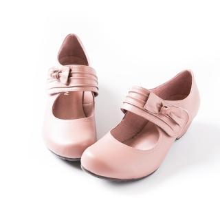 【ALAIN DELON】魔術貼氣質瑪莉珍低跟鞋W9411(3色 黑色 咖啡色 芋色)