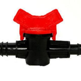 【灑水達人】16mm轉12mm軟管開關接頭2個(球閥)