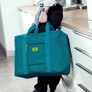 【M Square】防水折疊式旅行購物袋(水藍)