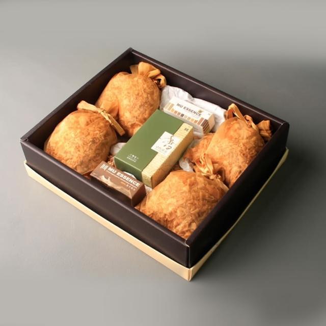 【MU LIFE荒木雕塑藝品】超值檜木香氛禮盒組(檜木精油10ml+純天然芳香檜木雪紗袋香包+線香7cm/60支裝)