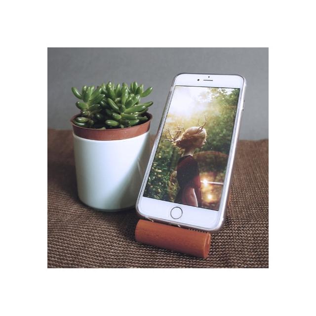 【MU LIFE 荒木雕塑藝品】MU CHEN原木生活系列 - 節(手機座 & pad座)