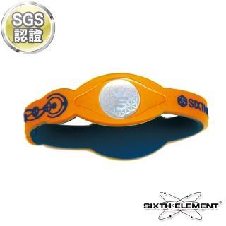 【第六元素】IEB負離子高能量手環(521 藍橘藍)